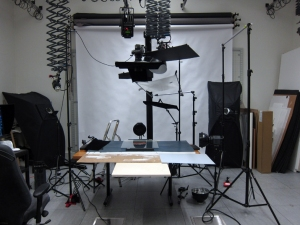 the photographic studio